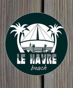 Sticker Le Havre Beach