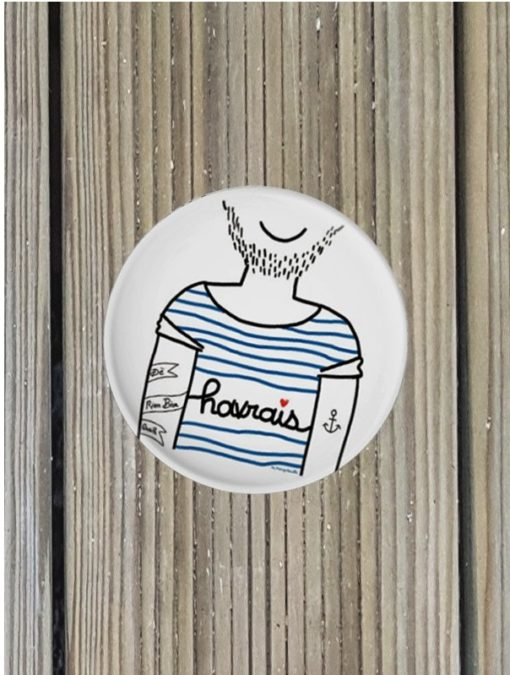 Badge Marygribouille Le Havrais