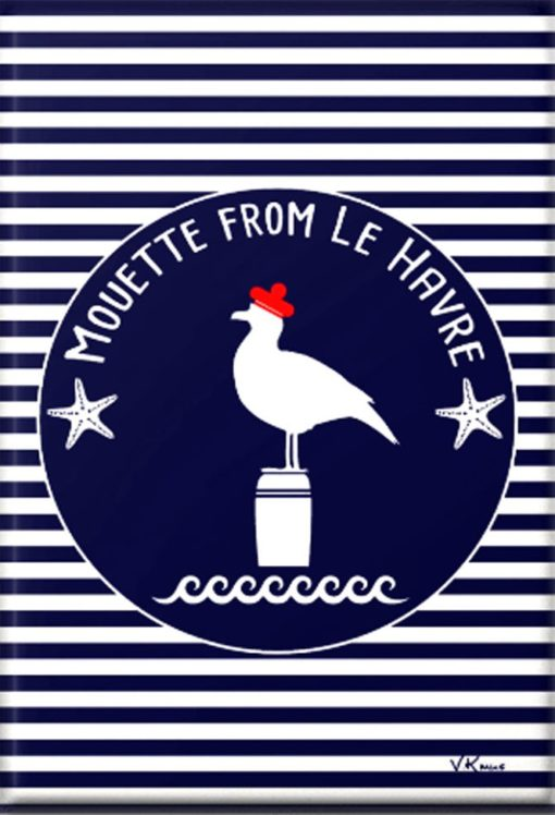 magnet marin mouette lH