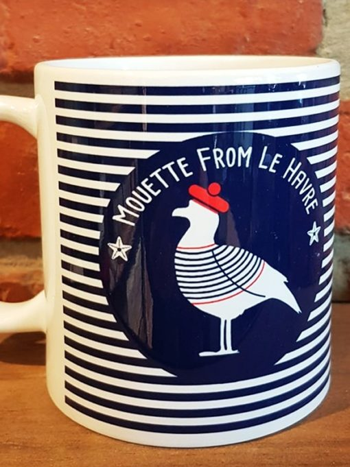 mug mouette from le havre