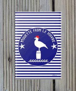 Magnet Mouette from Le Havre