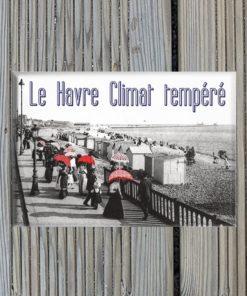 Magnet Le Havre Climat tempéré