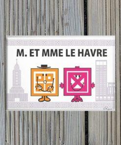 Magnet M. et Mme Le Havre