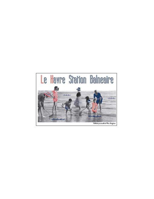 Carte postale Le Havre Station Balnéaire