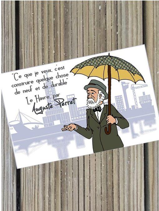 Carte Postale Le Havre par Perret