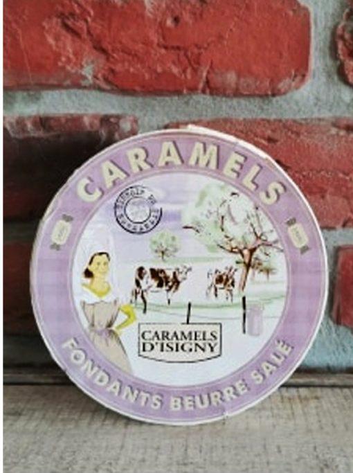 Boîte Blanche Caramels Fondants au Beurre Salé 150g