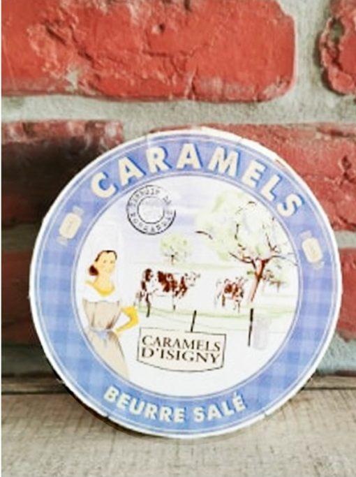 Boîte Bleue de Caramels Beurre Salé 150g