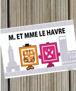 Carte postale M.et Mme Le Havre