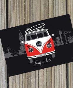 Carte postale Surf in LH