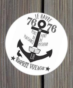 Sticker Le Havre Esprit Voyage