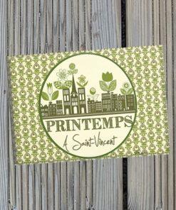 Magnet Printemps à Saint Vincent