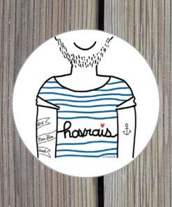 Sticker havrais par Marygribouille