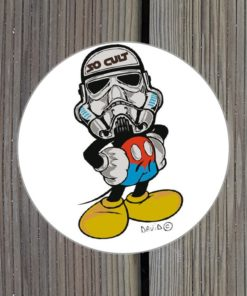 Sticker Pop Trooper par David Karsenty