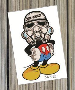 Carte Poptrooper par David Karsenty