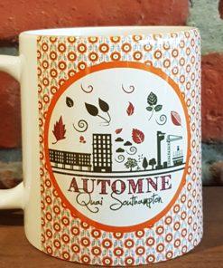 mug automne quai southampton