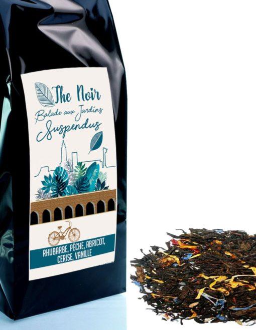 thé noir fruité exotique