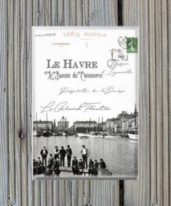 Magnet Le Havre Bassin du Commerce