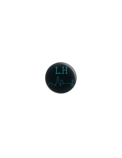 Badge LH Skyline 38mm