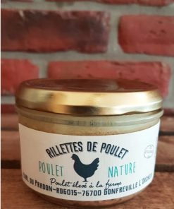 Rillettes de poulet nature 200g