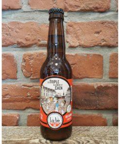 """Bière triple bio 33 cl """"Triple à la mode de Caen"""""""