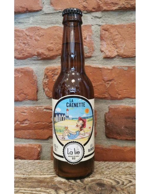 "Bière blanche bio 33 cl ""La Caenette"""