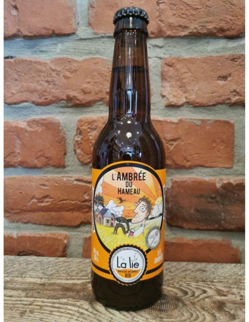 """Bière ambrée bio 33 cl """"L'ambrée du hameau"""""""