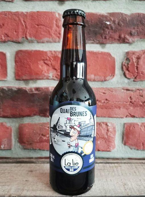 """Bière brune bio 33cl """"Quai des brunes"""""""
