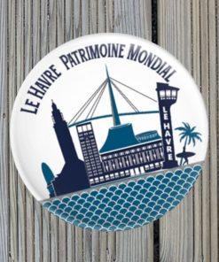 Magnet décapsuleur Le Havre Patrimoine Mondial