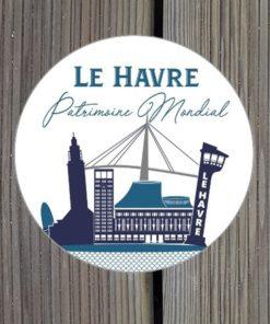 Sticker Le Havre Patrimoine Mondial