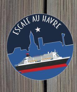 Sticker Escale au Havre