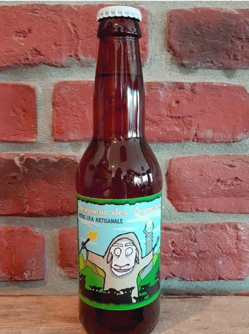 Bière I.P.A. Seigneur des Agneaux 33cl