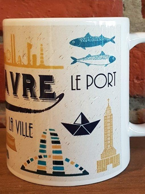 Mug Le Havre La Ville Le Port La Plage