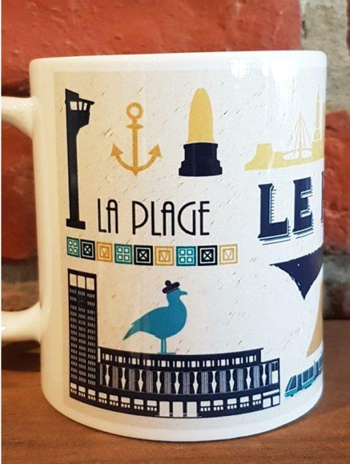 mug vintage le havre
