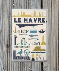 Magnet Le Havre La Ville Le Port La Plage