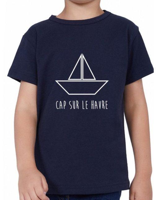 T-Shirt Enfant Cap sur Le Havre
