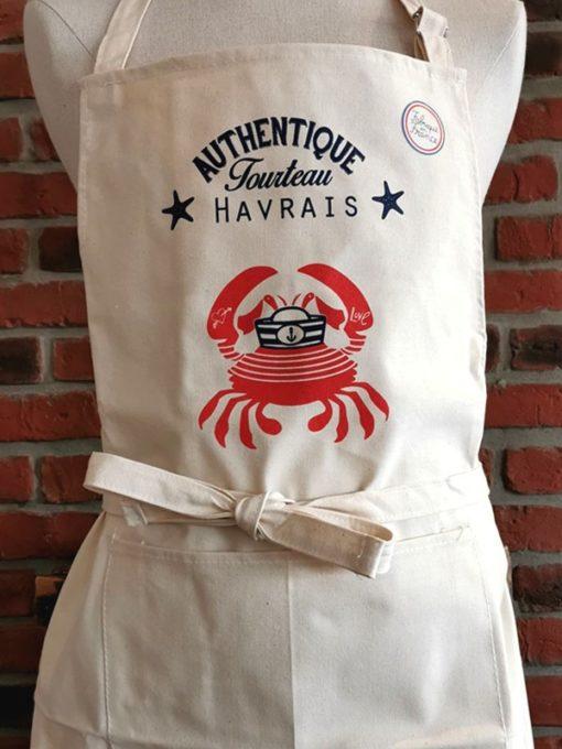 Tablier Blanc Authentique Tourteau Havrais
