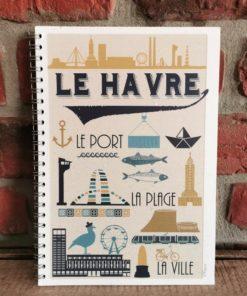 Cahier Le Havre Vintage