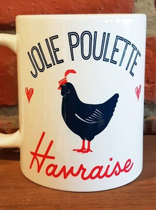 Mug Jolie Poulette Havraise