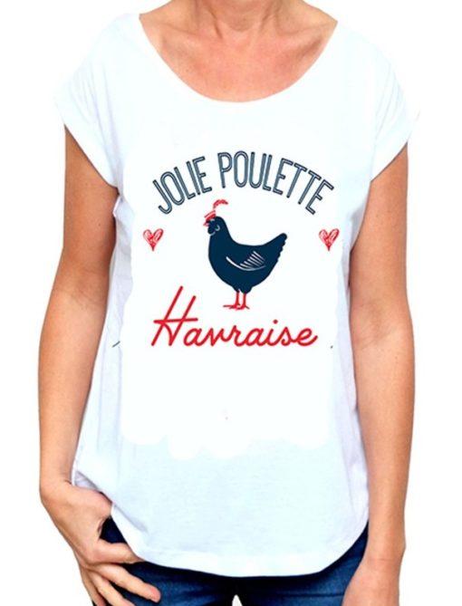 T-Shirt pour femme Jolie Poulette