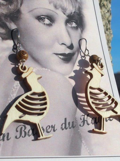 Boucles d'Oreilles Mouette from Le Havre