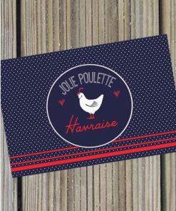 Carte Postale Jolie Poulette