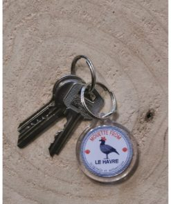 Porte clé rond Mouette from LH
