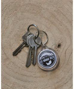 Porte clé rond LH City