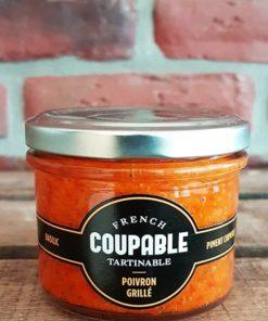 Tartinable de Poivron grillé piment Chipotle basilic 90g