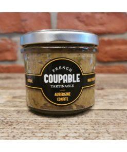 Tartinables de Aubergines confites/basilic/huile d'olive 90g
