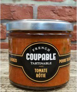 Tartinables de Tomates roties/chorizo/poivre Tellichery 90g