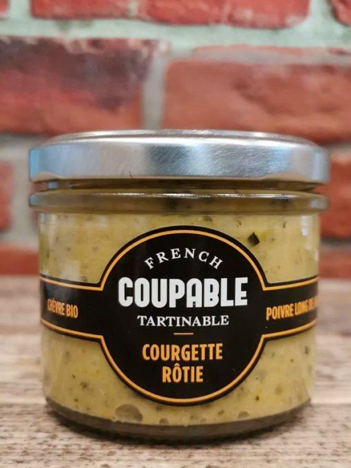 Tartinables de Courgettes roties/chèvre fermier/poivre long de Java 90g