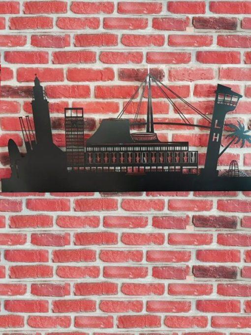 Skyline du Havre 96 cm