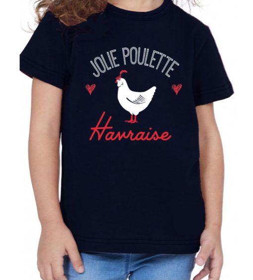 T-Shirt Enfant Poulette