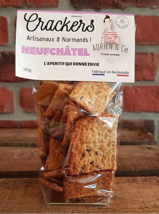 Crackers au Neufchâtel par Adrien